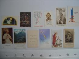 Lot IMAGES PIEUSES Holy Card Santini Religion Catholique COMMUNION Eglise 2 - Religion & Esotérisme