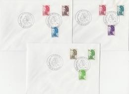 FDC 455 à 469 La Série Complète S/ 5 Env. - St PIERRE 4.11.86 - Lettres & Documents