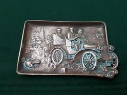 Cendrier, Vide Poche En Bronze Voiture Ancienne & - Souvenirs