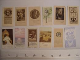 Lot IMAGES PIEUSES Holy Card Santini Religion Catholique COMMUNION Eglise 3 - Religion & Esotérisme
