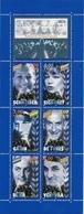 FRANCE 1998 BC 3193 PERSONNAGE CELEBRES ACTEURS CINEMA FRANCAIS ROMY SCHNEIDER SIMONE SIGNORET JEAN GABIN LOUIS DE FUNES - Markenheftchen
