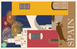 1 Magnet Neuf Theme Europe Espagne - Tourisme