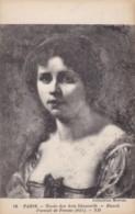 AR60 Art - Portrait De Femme By Ricard - Paintings