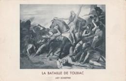AR60 Art - La Bataille De Tolbiac By Ary Scheffer - Paintings