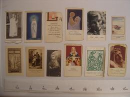 Lot IMAGES PIEUSES Holy Card Santini Religion Catholique COMMUNION Eglise 4 - Religion & Esotérisme