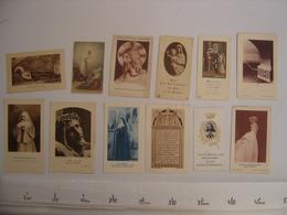 Lot IMAGES PIEUSES Holy Card Santini Religion Catholique COMMUNION Eglise 5 - Religion & Esotérisme