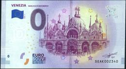Zero - BILLET EURO O Souvenir - VENEZIA {Basilica Di San Marco} 2018-1set UNC {Italy} - EURO