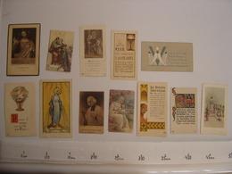 Lot IMAGES PIEUSES Holy Card Santini Religion Catholique COMMUNION Eglise 6 - Religion & Esotérisme