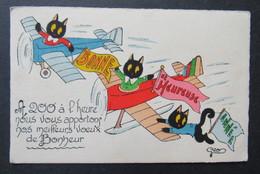 Geo Black Cat Zwarte Kat Chat Noir - Katten
