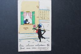 René Black Cat Zwarte Kat Chat Noir - Katten