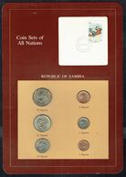 ZAMBIE / ZAMBIA - Monnaie - Années Entre 1968 Et 1983 - Lot De 6 Pièces. - Zambie