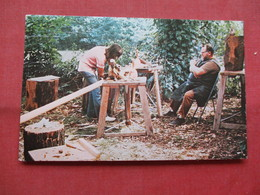 Emil Milan      Master Woodcarver-- Teaching Summer Workshop At Peters Valley  Northwestern  New Jersey      Ref    3559 - Craft