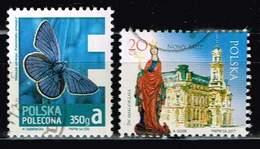 Polen 2013/17, Michel# 4627, 4956 O Insekten: Schmetterling/ Nowy Sącz - Used Stamps