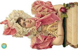 1 Magnet Neuf Theme Tete De Femme Ancienne - Publicitaires