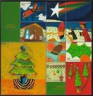 Argentina - 1999 - Noël - Hojas Bloque