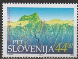 Slovenia 1993 Scott 166 MNH Alpine Club - Slovénie