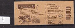 Carnet Marianne De Baujeard N° 590 C14 - Booklets
