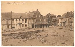 REBECQ 1934 Ou +/-1939 Grand'Place Et Casino - DESAIX - CPA - Rebecq
