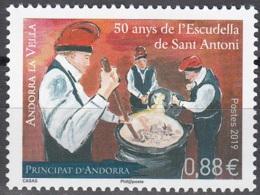 Andorre Français 2019 Gastronomie Neuf ** - Andorre Français
