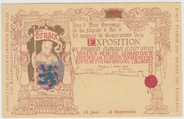Exposition Des Primitifs Flamands Et D'Art Ancien, Bruges 1902 - F.p. - Esposizioni