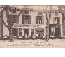 Lapalud. Façade De L'Hôtel-Restaurant Nouvel-Hôtel. L Heret Propiétaire. - Lapalud