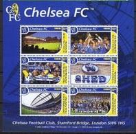 Soccer Football 2002 Grenada KB 5138/43 Chelsea MNH ** - Famous Clubs