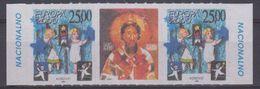 Europa Cept 2000 Kosovo/Serbia  Strip 2v + Label (normal Size)  ** Mnh (44255) PRIVATE ISSUE - Europa-CEPT