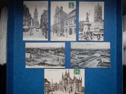 LOT DE 6 CARTES POSTALES DE DUNKERQUE 1910 - 1920 - Dunkerque