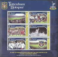 Soccer Football 2002 Grenada KB 5059/64 Tottenham Hotspur MNH ** - Famous Clubs