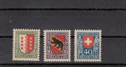 Suisse - 1921 - Neuf** - N° YT 185/187 - Pro Juventute - Neufs