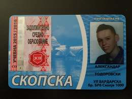 Macedonia Bus  Seasons Ticket 2015-2016 - Abonnements Hebdomadaires & Mensuels