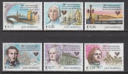 2003 San Marino St Petersburg Russia Complete  Set Of 6 MNH  ** BELOW FACE VALUE *** - San Marino