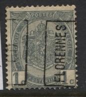 PREOS Roulette - FLORENNES 00 Sans Bandelette (position A). Cat 287 Cote 260. - Precancels