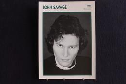 Sp-Acteur,1980-John Savage Est Un Acteur Et Producteur Américain, Né Le 25 Août 1949 à Old Bethpage (État De New York). - Acteurs