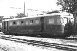 "08540 ""FVV (FERROVIA VOGHERA - VARZI) ELETTROMOTRICE ABD22 (1957)"" TRENI. FOTO. ORIG. - Treni"