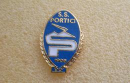 S.S. Portici Calcio Distintivi FootBall Soccer Spilla Pins Napoli Campania - Calcio