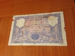 100 F  Bleu Et Rose 3/3/1899 - La Sagesse Fixe La Fortune - Mauvais état Mais Rare  (port à Ma Charge ) - 100 F 1888-1909 ''Bleu Et Rose''