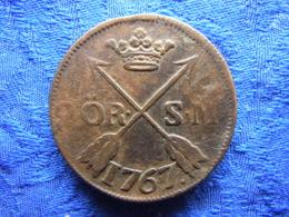SWEDEN 2 ORE SM. 1767, KM461 Cleaned - Schweden