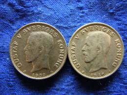 SWEDEN 1 KRONA 1939, 1940, KM786.2 - Schweden