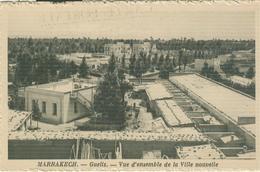 MARRAKECH - GUELIZ - VUE D'ENSEMBLE DE LA VILLE NOUVELLE, N/V - Marrakech