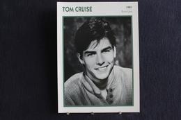 Sp-Acteur,1985 -Tom Cruise, Est Un Acteur Et Producteur De Cinéma Américain, Né En 1962 à Syracuse (New York). - Acteurs