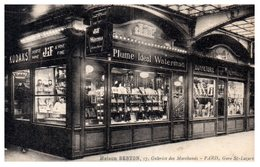 75 Paris - Maison BERTON - Galeries Des Marchands - Gare Saint Lazare - Commerce JIF - Non Classificati