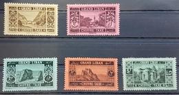 UT - Lebanon 1925 Complete Set 5v. MNH Mi. 11-15 Grand Liban Postage Due - Lebanon