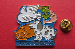 Grand Pin's,Animaux,OISEAU,CHIEN,CHAT,POISSON,PAPILLON,Tierschutz Obwalden,Suisse,S.Erni,limitée - Animaux