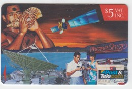 Fiji Fair Used Condition Phonecard Code 13FIC - Fiji