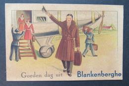 Blankenberge Goeden Dag Uit Blankenberghe Vliegtuig Avion - Blankenberge