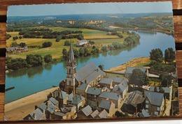 CHALONNES L EGLISE ET LA LOIRE - Chalonnes Sur Loire
