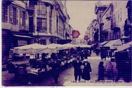 NICE Le Marché Aux Fleurs,1927 -FERRARA , ITALIA - Mercati, Feste