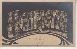 HENRIETTE - Voornamen