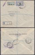 SOUDAN LETTRE RECOMMANDE DE KHARTOUM 30/08/1932 VERS LE DANEMARK (8G34820) DC-3840 - Soudan (1954-...)